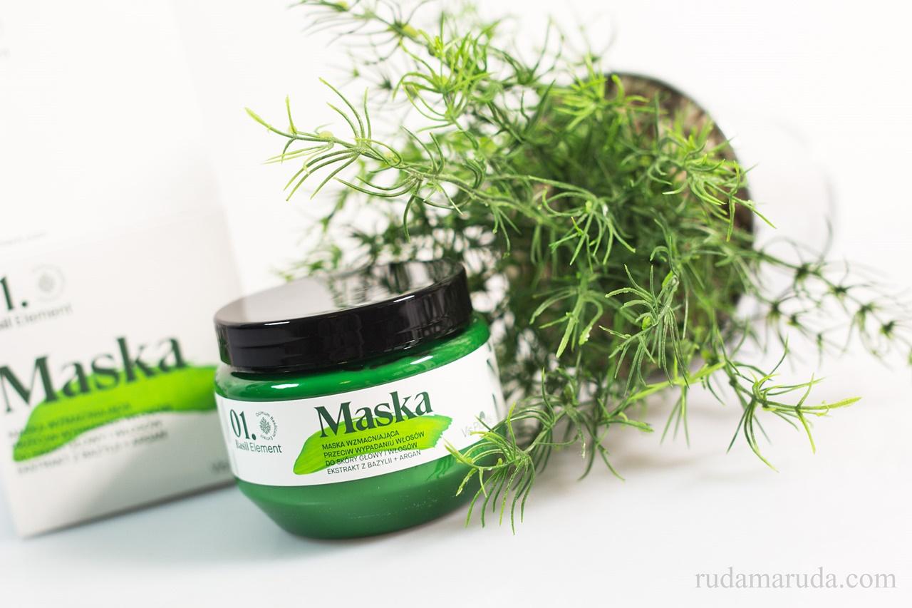 maska wzmacniająca przeciw wypadaniu włosów