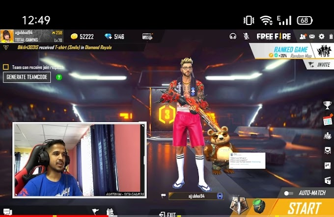Free fire desi gamers monthly income, ID, Monthly income, girlfriend ,face reveal