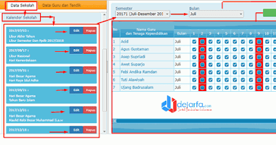 Kalender Sekolah DHGTK dejarfa.com