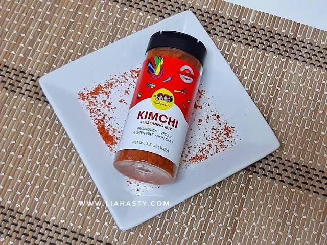 Penambah Rasa Makanan Kimchi Seasoning Mix dari Seoul Sisters