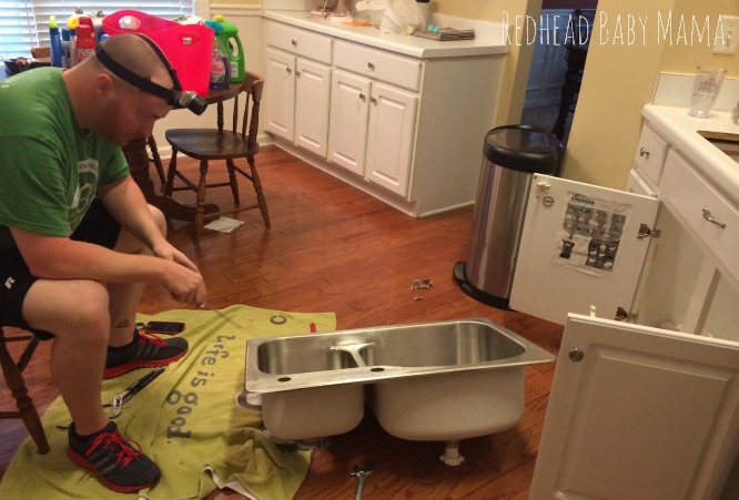 Replacing the Kitchen Sink and Faucet - DIY Plumbing