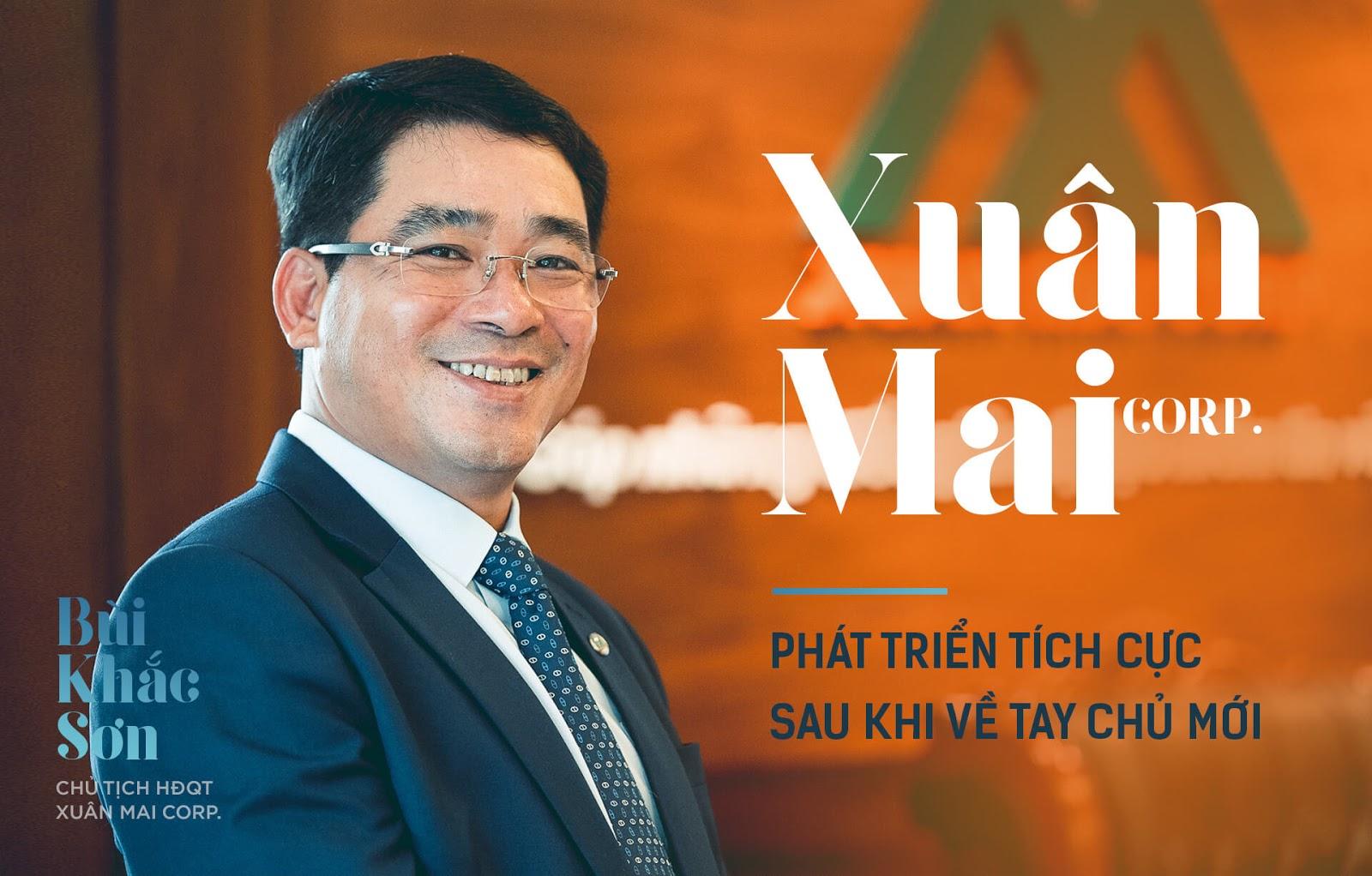 Chủ tịch Xuân Mai Corp - Bùi Khắc Sơn