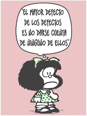 Esta imagen es un homenaje a Quino, que supo humanizar como nadie nuestros defectos y al hacerlo, sin darse cuenta, iluminó también nuestros dones.