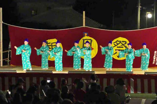 dancers, festival, kimonos, Okinawa