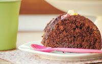 Bizcocho de chocolate con calabacín