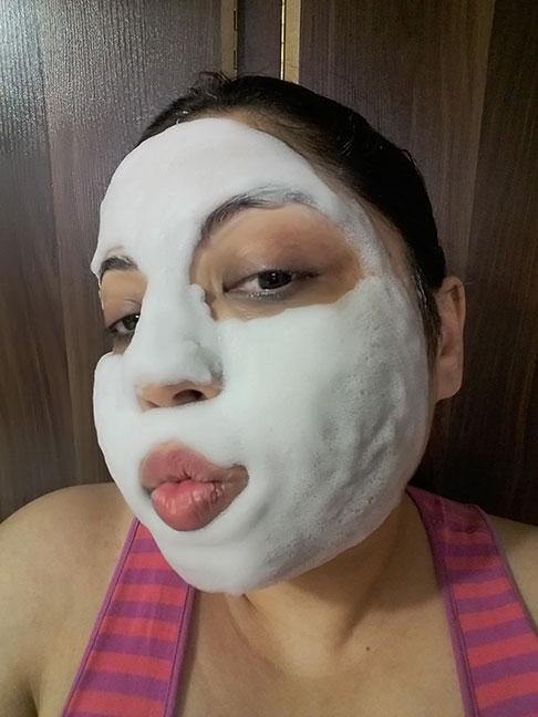 Asian bubble face