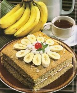 Resep cara bikin kue pisang coklat