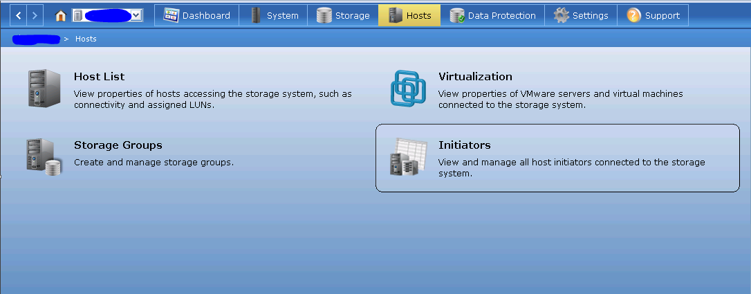 How to register host initiators in the VNX | How to add
