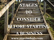 STAGES TO CONSIDER BEFORE STARTING A BUSINESS.