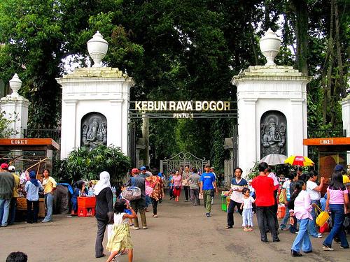 Kebun Raya Bogor Jawa Barat