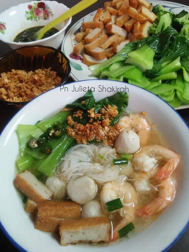 Bahan Dah Ada Jom Buat Bihun Sup Chinese Style Dari Dapur