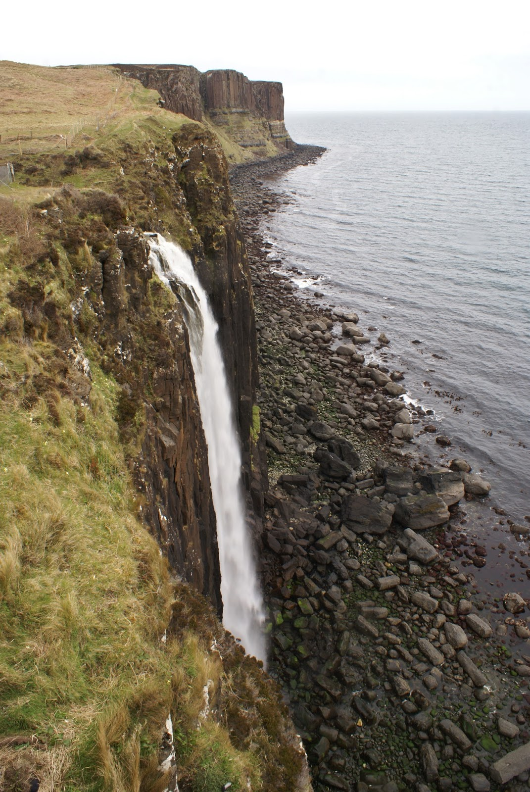 kilt rock skye scotland uk united kingdom