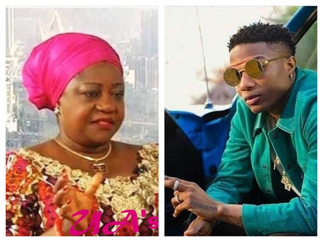 """A 77 year old man is not young ma"" :- Wizkid replies Lauretta Onochie"