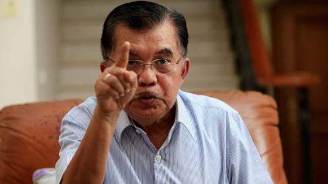 Jusuf Kalla Marahi 2 Presenter TV Saat Live Akidi Tio: Berhentilah Bicara!