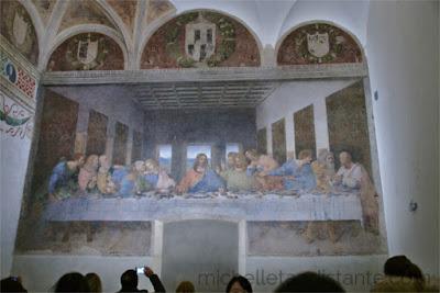 Cenacolo Vinciano, Leonardo da Vinci - Milão