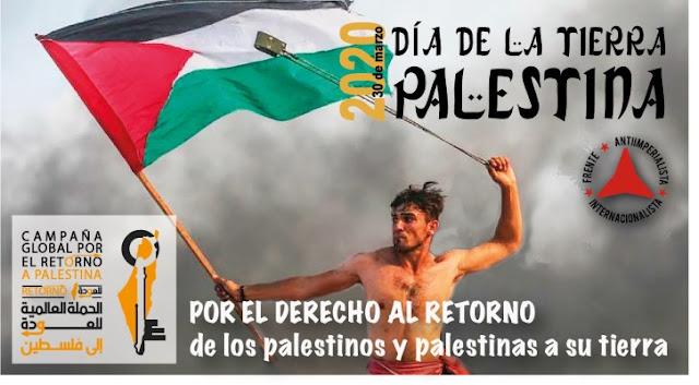 FAI comemora o Dia da Terra Palestina