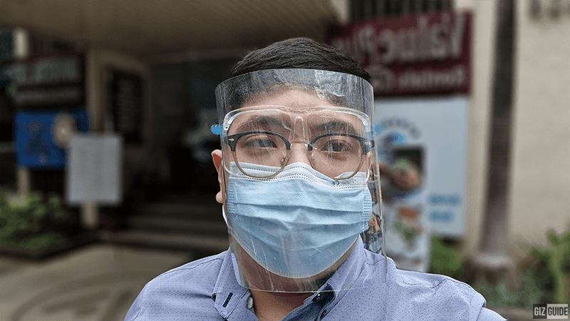 Selfie camera portrait mode - blur
