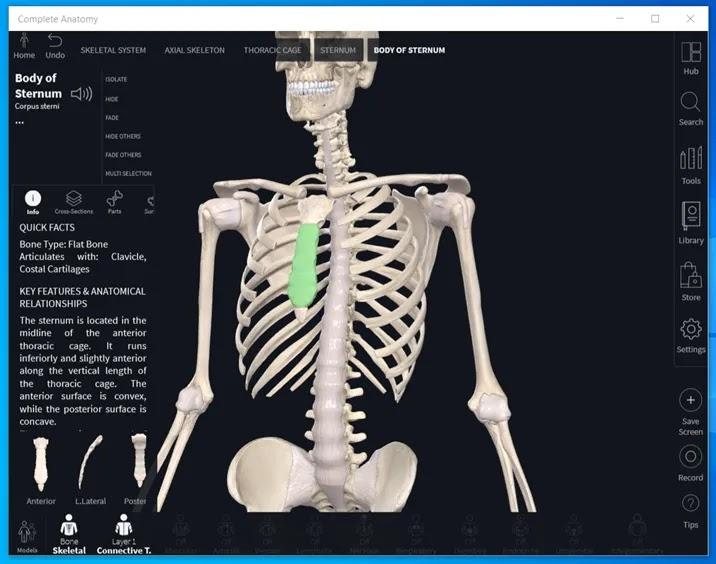 Complete Anatomy 2022:  H  πιο εξελιγμένη πλατφόρμα εκμάθησης ανατομίας στον κόσμο