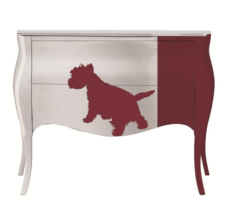 custom dressers from Italy