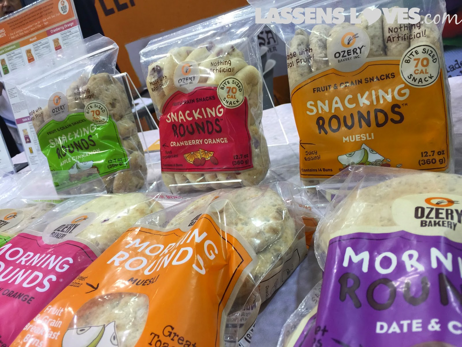 Expo+West+2015, Natural+Foods+Show, New+Natural+Products, ozery+bakery, snacking+rounds,