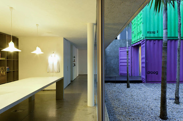 Decameron - Low Budget Colorful Shipping Container Store, Brazil 25
