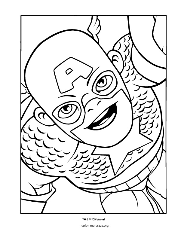 Permalink to superhero coloring pages