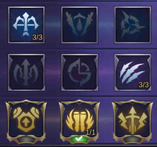 Emblem-Karrie-tersakit-mobile-legends