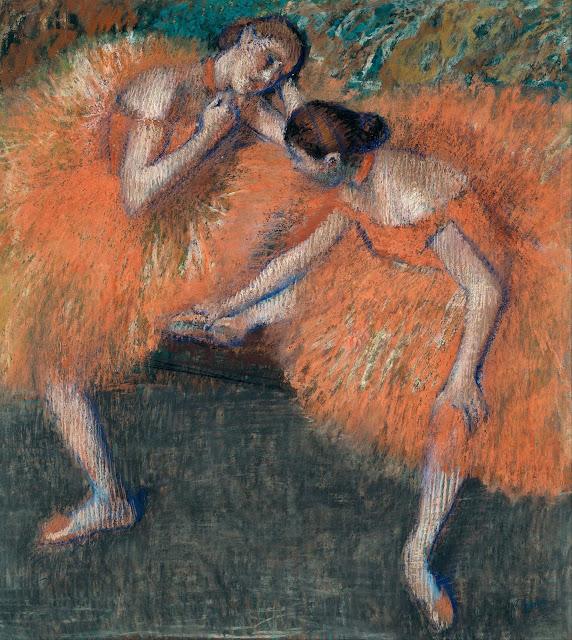 Эдгар Дега - Две танцовщицы (ок.1898)