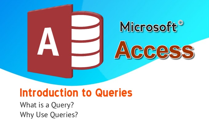 Introduction to Queries/ What is a Query? Why Use Queries?
