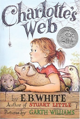 best books for children - Charlotte's Web by E.B. White