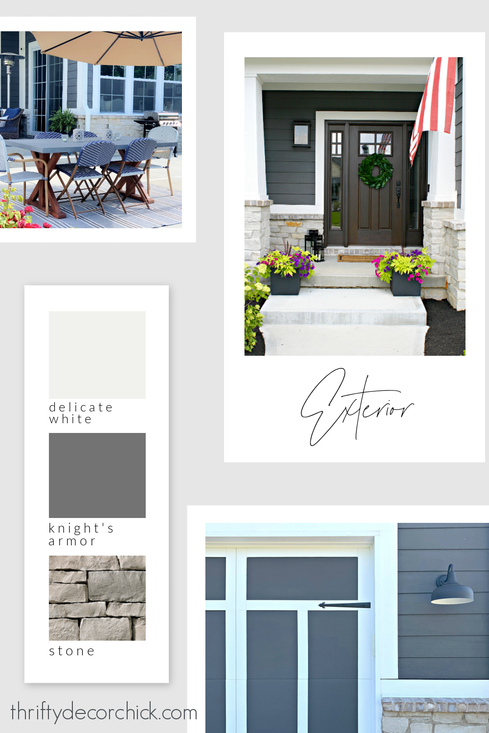 Thrifty Decor Chick house paint colors