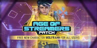 Free Fire Wolrahh Character