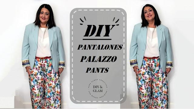Diy pantalones palazzo sin patrón