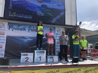 Leoneses en campeonato de Trail Running
