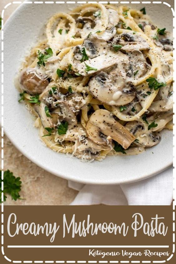 Creamy Mushroom Pasta - Family Fresh Meals