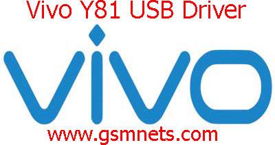 Vivo Y81 USB Driver Download