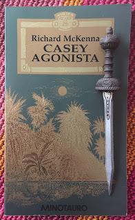 Portada del libro Casey agonista, de Richard Mckenna