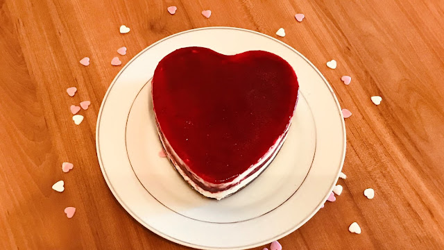 Entremet Coeur Fruis Rouges Saint Valentin