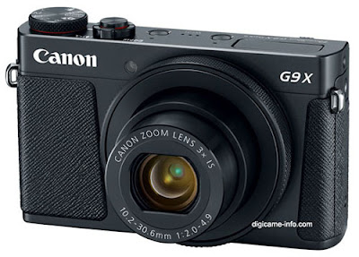 تسريب صور ومواصفات كاميرا Canon PowerShot G9 X Mark II
