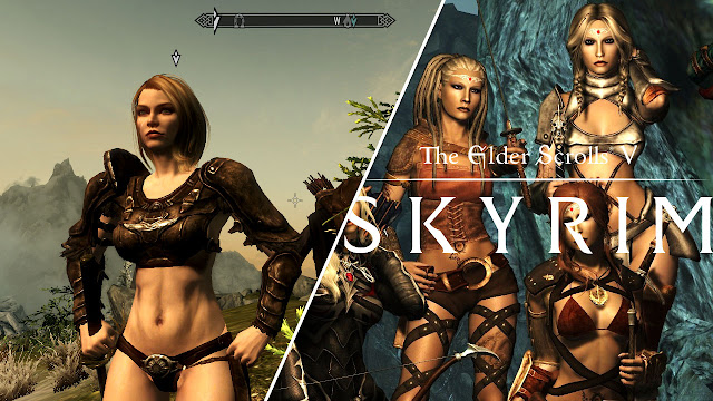 SKYRIM w/ Sexy Followers! Delphine, Dragon Slain and Camilla