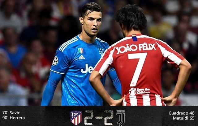 Atlético Madrid vs Juventus - IGindobolaclub