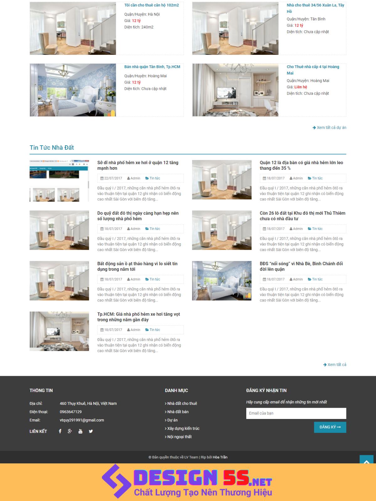 Template Blogspot bất động Sản Miễn Phí Tốt nhất - Ảnh 2