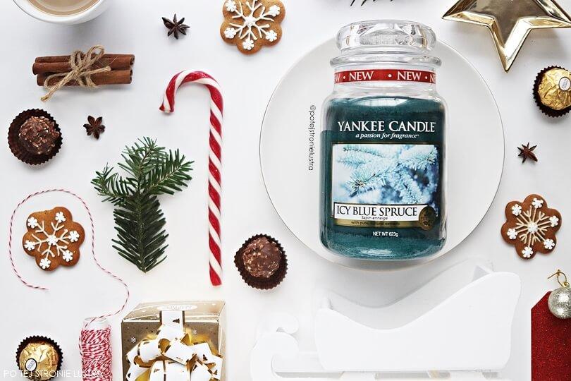 yankee candle icy blue spruce z kolekcji q4 2018