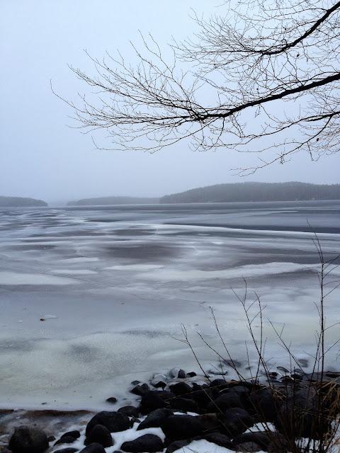talvisää, järvenjää, sää