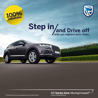 Cfc Stanbic toyotsu auto loans