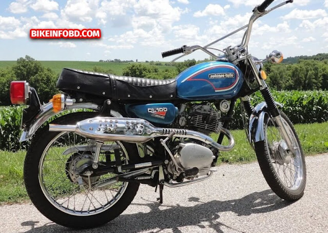1972 Honda CL100