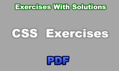 CSS Exercises With Solutions PDF