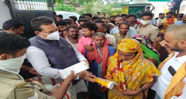 Charwa Nagar Panchayat Ke Vikas Ke Liye Chayal Vidhayak Ne Shasan Se Dilaye 62 Lakh News Vision