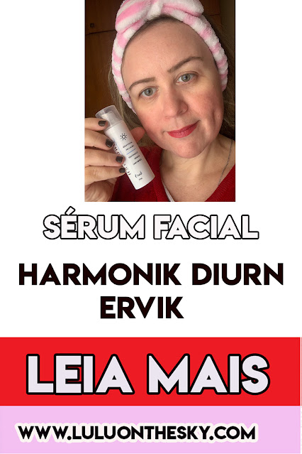 Sérum Facial Pró -Aging   Harmonik Diurn - ERVIK