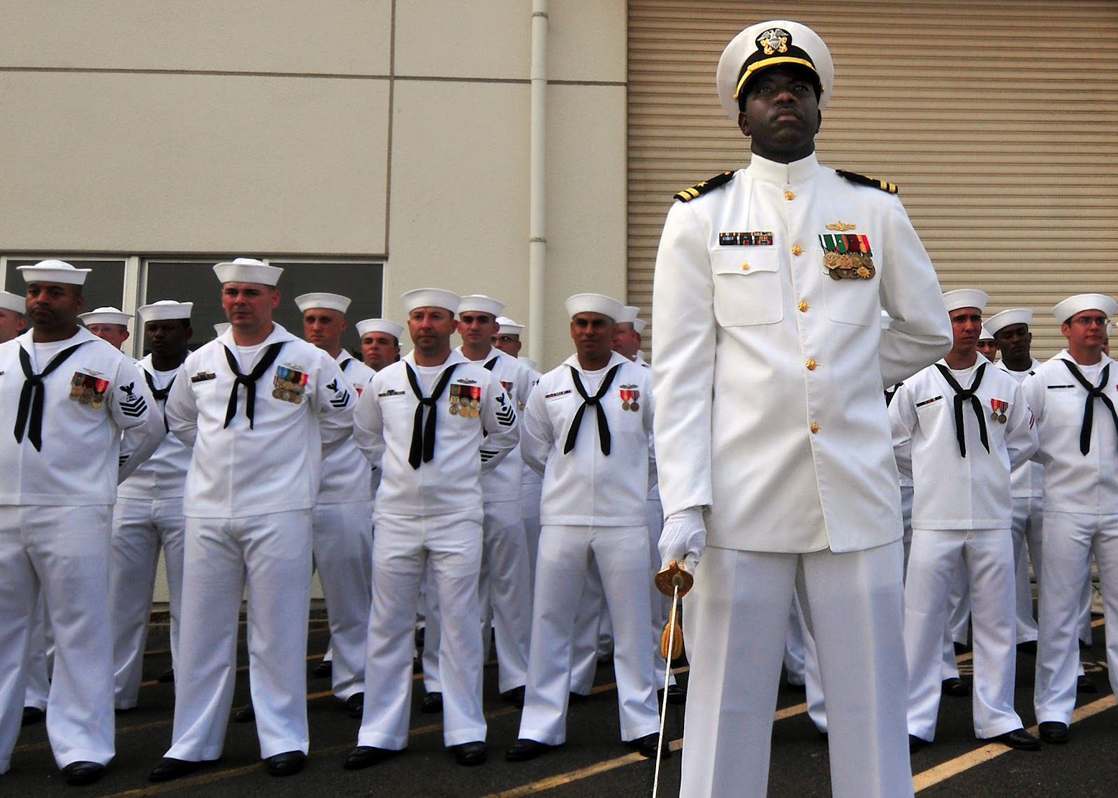 Navy and Novels: Officer and Enlisted Uniforms